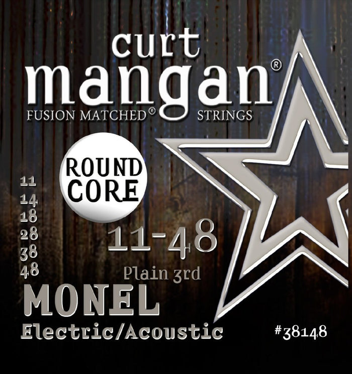 Curt Mangan Fusion Matched Monel 11-48 Electric Guitar String Set
