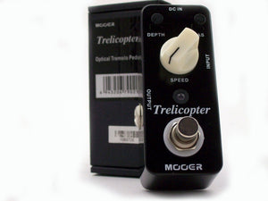 Mooer Pedals USA Trelicopter Optical Tremolo  Micro Effects