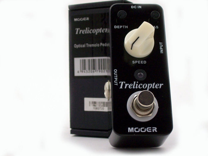 Mooer Trelicopter Optical Tremolo Micro Effects Pedal