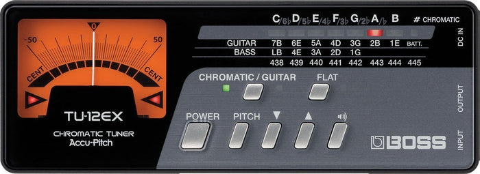 Boss TU-12EX Chromatic Tuner