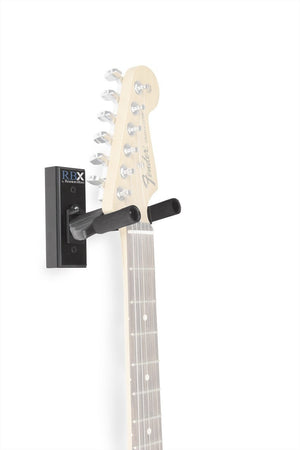 Reunion Blues RBX Self Locking Guitar Wall Hanger - Black