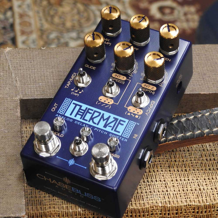 Chase Bliss Audio Thermae Analog Delay/Pitch Shifter Pedal