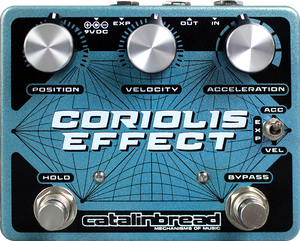 Catalinbread Coriolis Effect - Sustainer, Pitch-Shifter, Filter & Harmonizer Pedal