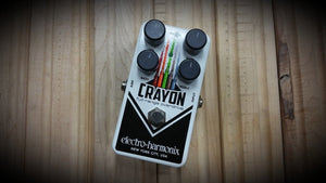 Electro-Harmonix Crayon Full-range Overdrive Guitar Effects Pedal