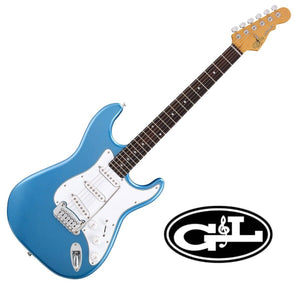 G&L Guitars Tribute Series Legacy Lake Placid Blue with Gig Bag