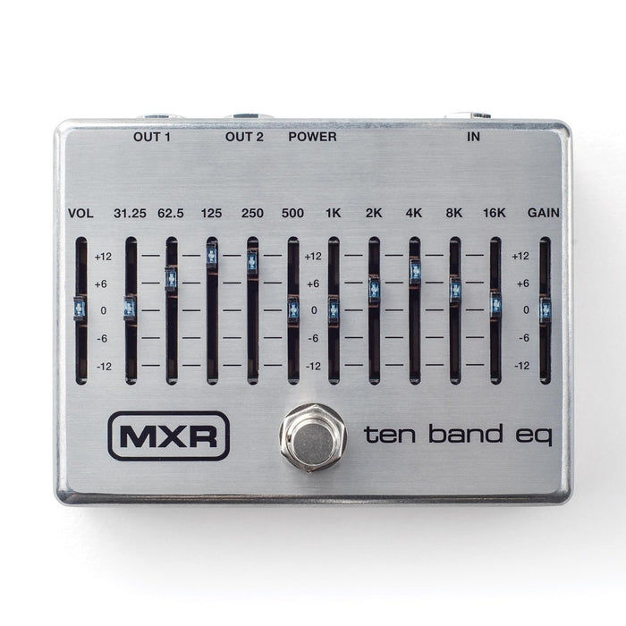 MXR Ten Band Graphic EQ Guitar/Bass All Instrument Effects Pedal
