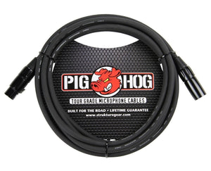 Pig Hog 10ft Microphone XLR Balanced Cable