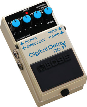 Boss DD-3T Digital Delay Tap Tempo Pedal