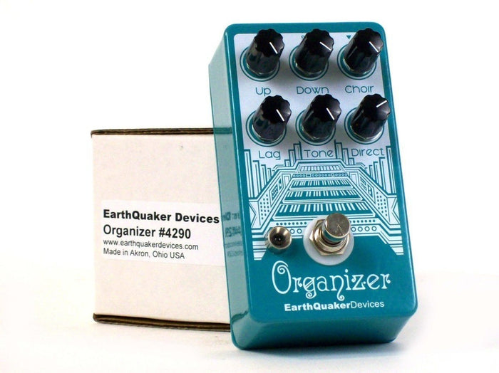 EarthQuaker Devices  - The Organizer Organ Emulator Guitar Effects Pedal
