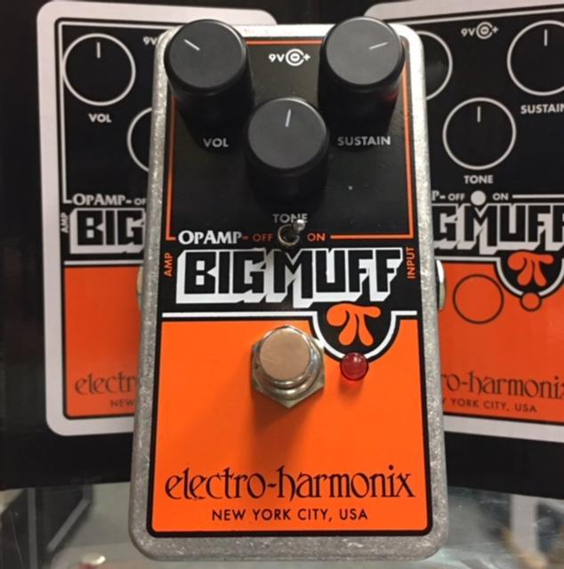 Electro-Harmonix Op-Amp Big Muff Pi Distortion/Fuzz Pedal