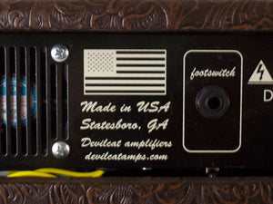 "Devilcat Amplifiers ""Mr Terry"" 30 Watt Class A Tube Amp"