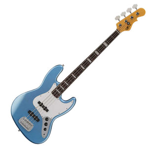 G&L Guitars Tribute Series JB Bass Guitar, Lake Placid Blue