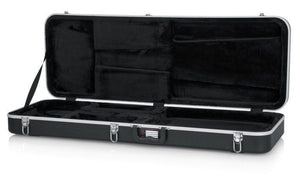Deluxe Molded ABS Case for Electric Guitars; Extra Long