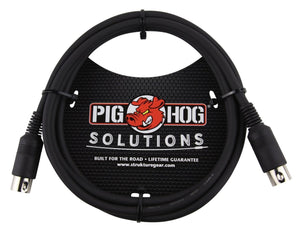 Pig Hog  6ft MIDI Cable