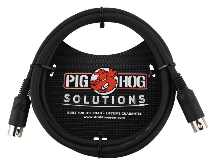 Pig Hog Solutions 6ft MIDI Cable