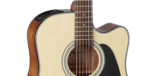 Takamine GD30CE-NAT Steel-String Natural Dreadnought Acoustic/Electric Guitar w/TP-4TD Preamp