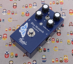 Fredric Effects Blue Monarch Overdrive Pedal
