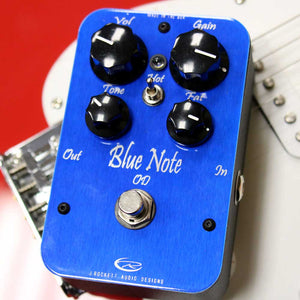 J. Rockett Audio Blue Note Overdrive Effect Pedal