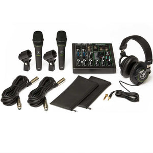 Mackie Performer Recording Interface Bundle