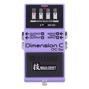 Boss DC-2w Dimension C Waza Craft Effects Pedal