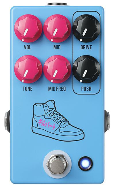 JHS Pedals PG-14 Paul Gilbert Signature Overdrive / Distortion Pedal