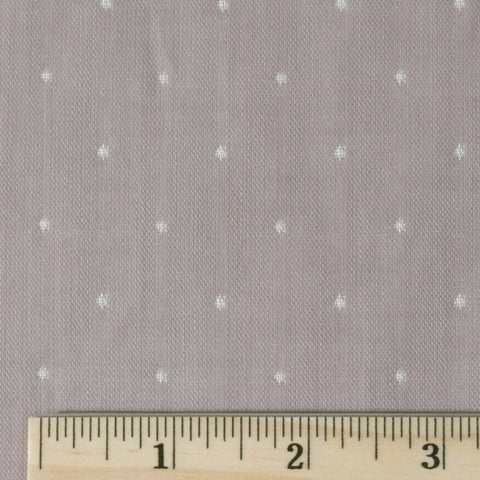 Organic Cotton Double Gauze - Pearl Grey, 1/2 yard