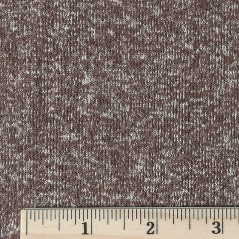 Hemp/Organic Cotton Jersey - Hot Cocoa, 1/2 yard