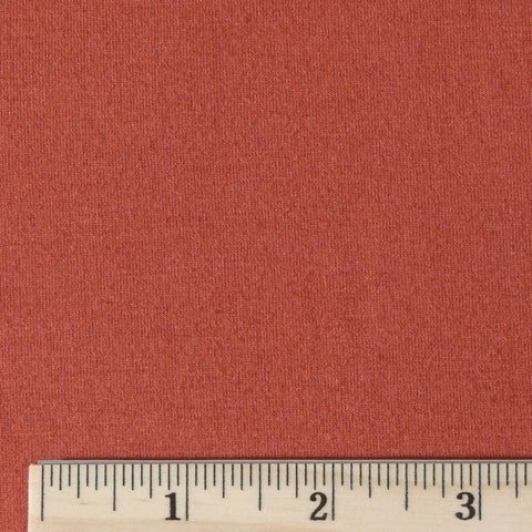 Soy/Organic Cotton/Spandex Jersey - Terra Cotta, 1/2 yard