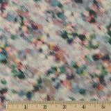 Japanese Cotton Lawn - Green/Pink/Cream Multi, 1/2 yard