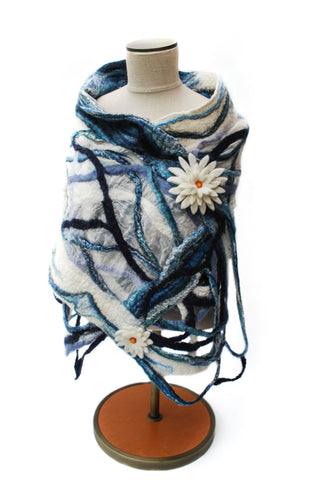 CALM WATER shawl