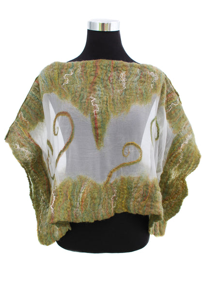 FOREST LIGHT capelet