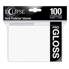 ULTRA PRO Deck Protector Standard - Gloss 100ct White Eclipse