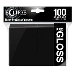 ULTRA PRO Deck Protector Standard - Gloss 100ct Black Eclipse