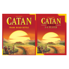 Settlers of Catan 5th Edition Core Set + 5-6 Player Expansion