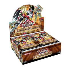 PREORDER Yugioh TCG Lightning Overdrive Booster Box