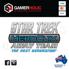 Star Trek HeroClix Away Team The Next Generation Starter Set