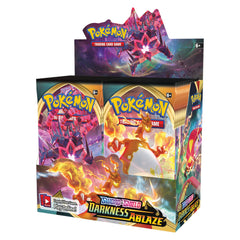 PREORDER POKEMON TCG Sword and Shield Darkness Ablaze Booster Box