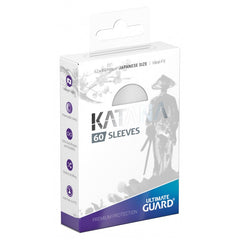 PREORDER Ultimate Guard Katana Japanese Size Sleeves White (60)