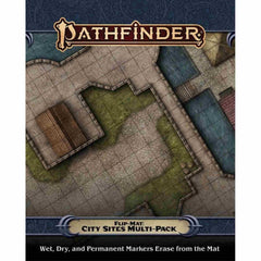 PREORDER Pathfinder Accessories Flip-Mat: City Sites Multi-Pack