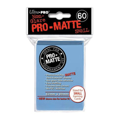 Ultra Pro Deck Protector Sleeves x60 Pro Matte Non-Glare Small Light Blue