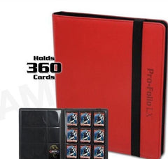BCW Profolio 9 Pocket Red Binder LX