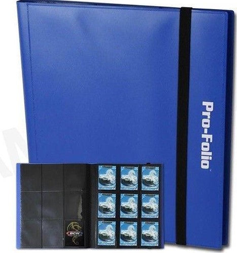 BCW Profolio 9 Pocket Blue Binder