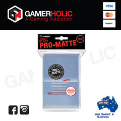 Ultra Pro 100ct Pro-Matte Clear Standard Deck Protectors
