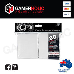Ultra Pro PRO-Matte Eclipse White Small Deck Protector sleeves 80ct