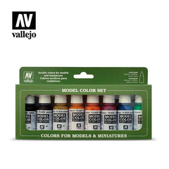 Vallejo Model Colour - Transparent Colours 8 Colour Set