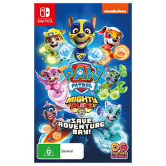 PREORDER SWI Paw Patrol: Mighty Pups Save Adventure Bay!