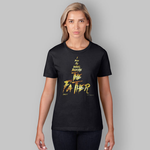 Women's Graphic Tee  | The Father | Black