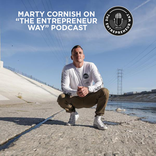 Overcoming Hurdles: Marty on 'The Entrepreneur Way' Podcast