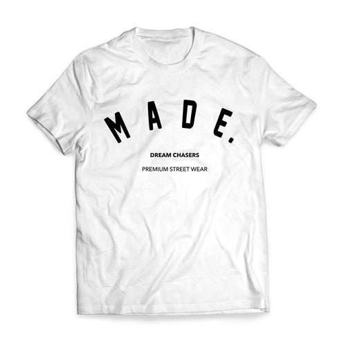 Made Status Team Shirt White
