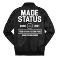 Made Status Supremacy Bomber Jacket